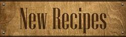 New Recipes Sign